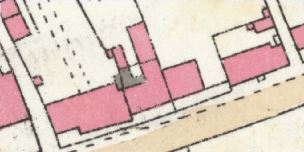 1841 Tithe Map enlarged with tenants and