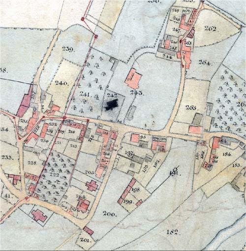 freshford map 1822. Black Bedroom Furniture Sets. Home Design Ideas